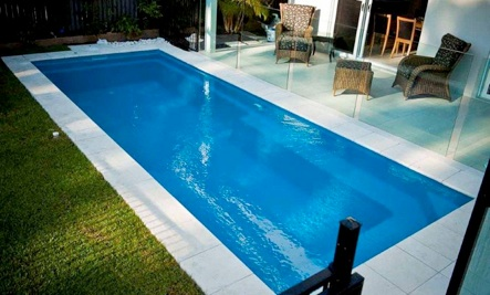 go to non marine page - Above Ground Fiberglass Lap Pools